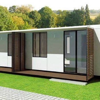 خانه ساخته شده با ساندویچ پانل