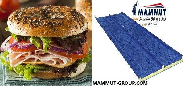 ساخت ساندویچ پانل