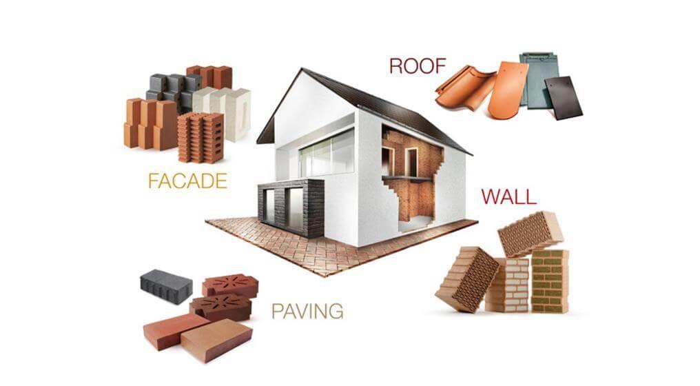 جنس مصالح ساختمانی در کاهش انرژی
