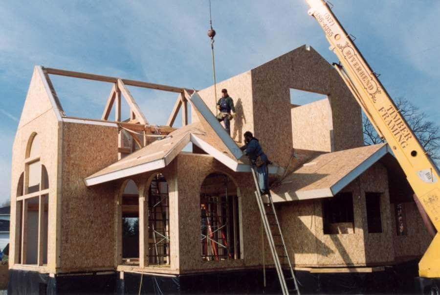 سبک سازی ساختمان با ساندویچ پانل