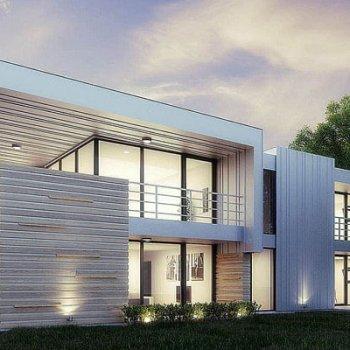 خانه ساخته شده با فولاد