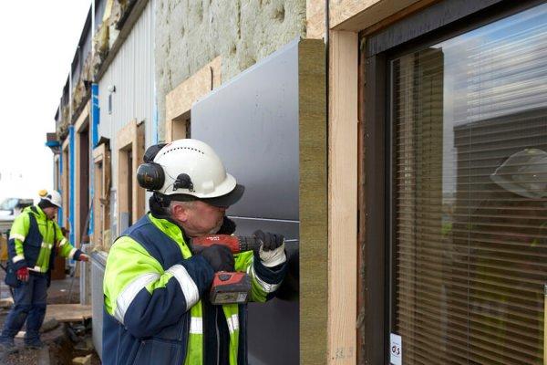 بازسازی شاختمان ها با ساندویچ پانل ، Reconstruction of buildings with sandwich panels