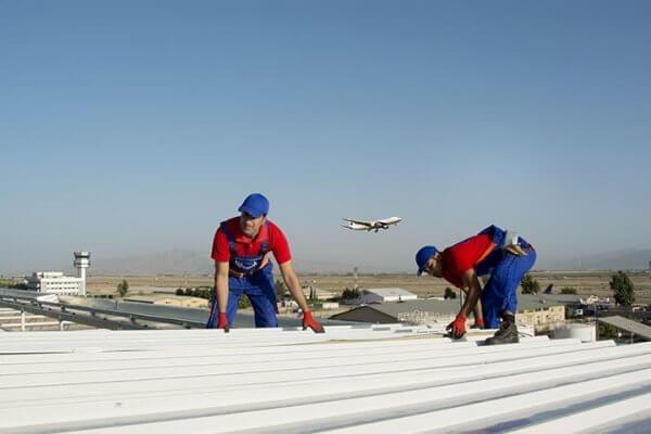نحوه نصب ساندویچ پانل سقفی