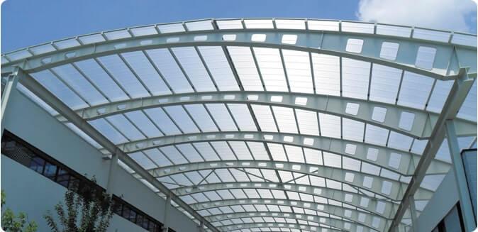 استفاده از پلی کربنات سقفی برای ساخت سوله